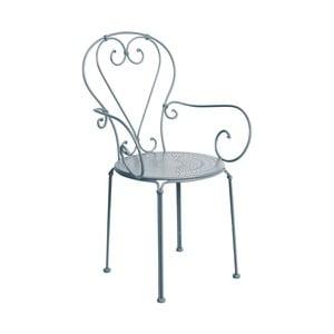 Šedá židle s područkami Butlers Century Dream