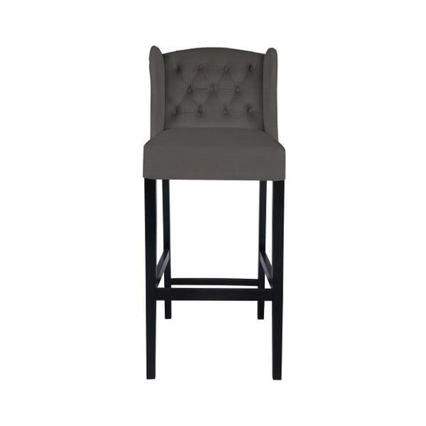Šedá barová židle Mazzini Sofas Roco