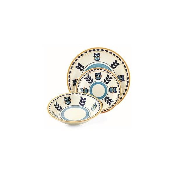 Hluboký talíř Arca modrý, 21 cm
