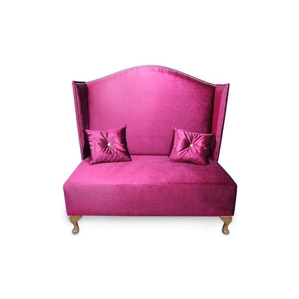 Pohovka Pompadour, růžová