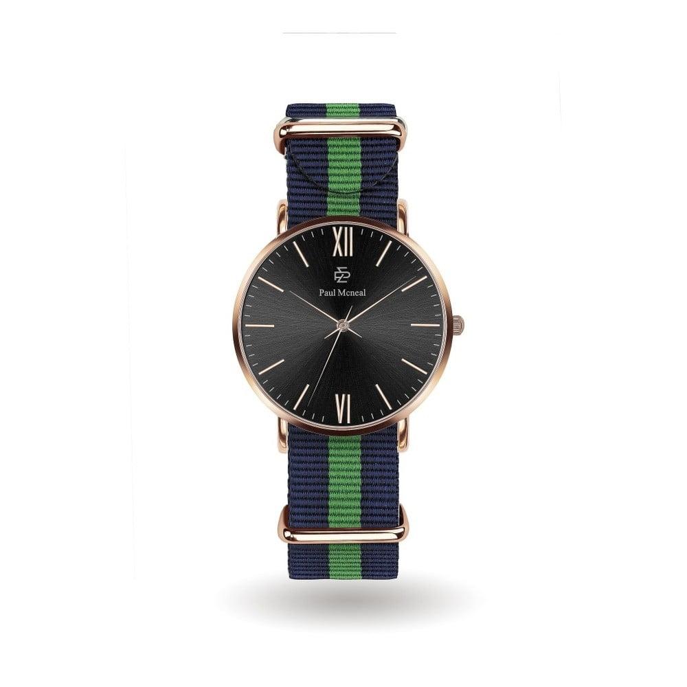 Pánské hodinky s nylonovým páskem Paul McNeal Fresca