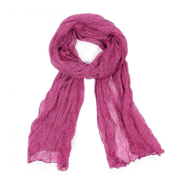 Šátek Polka Dot Ultra Violet