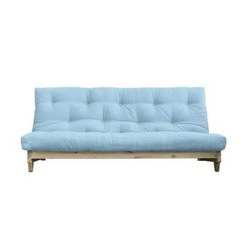 Canapea extensibilă Karup Design Fresh Natural/Light Blue