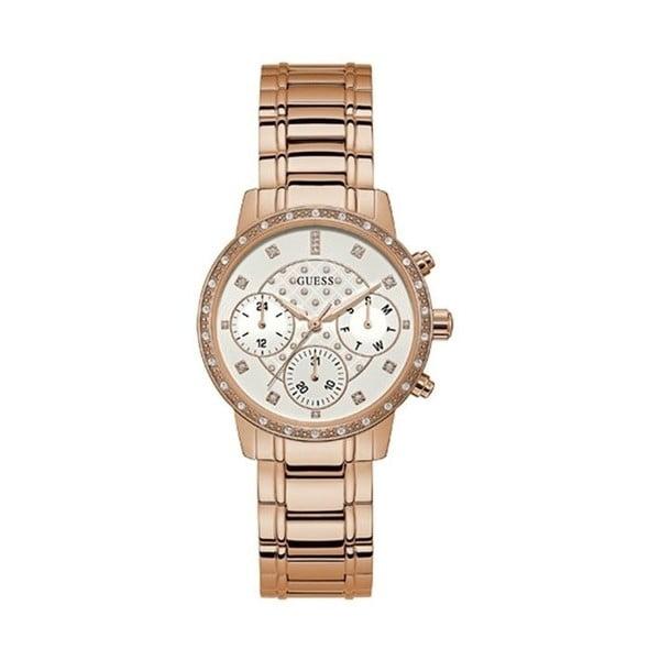 Ceas damă Guess W1022L3, curea metalică, roz - auriu