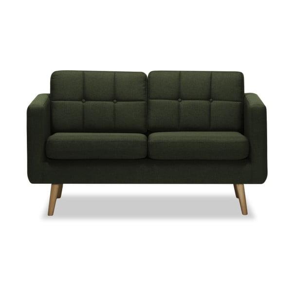 Magnus sötétzöld kétszemélyes kanapé - Vivonita