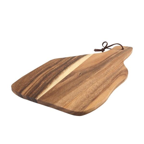 Tocător din lemn de acacia T&G Woodware Baroque, 35 x 20 cm