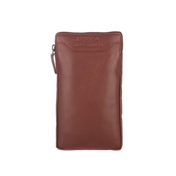 Multifunkční kožené pouzdro Shield Whiskey
