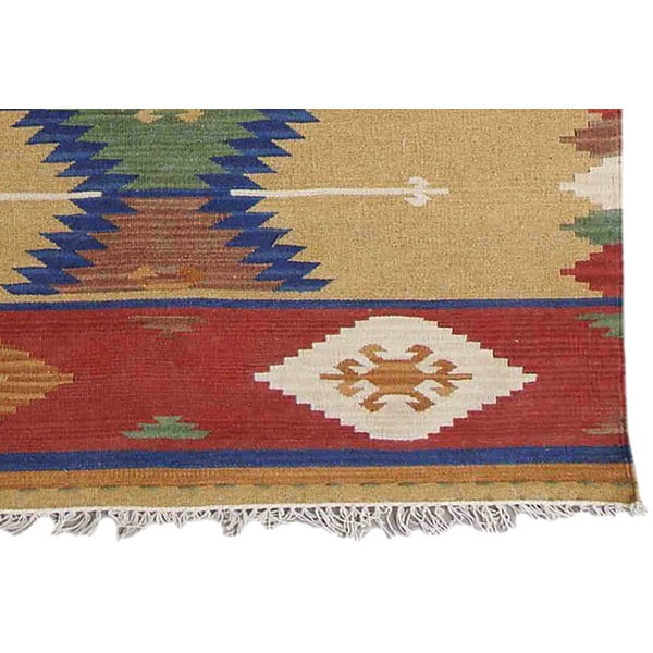 Vlněný koberec Bakero Kilim Classic K77, 125x185 cm
