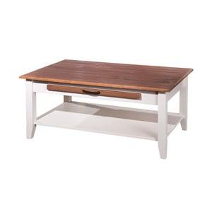 Konferenční stolek z masivního borovicového dřeva Interlink Cassala
