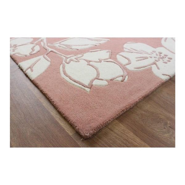 Vlněný koberec Devore Pink 200x300 cm