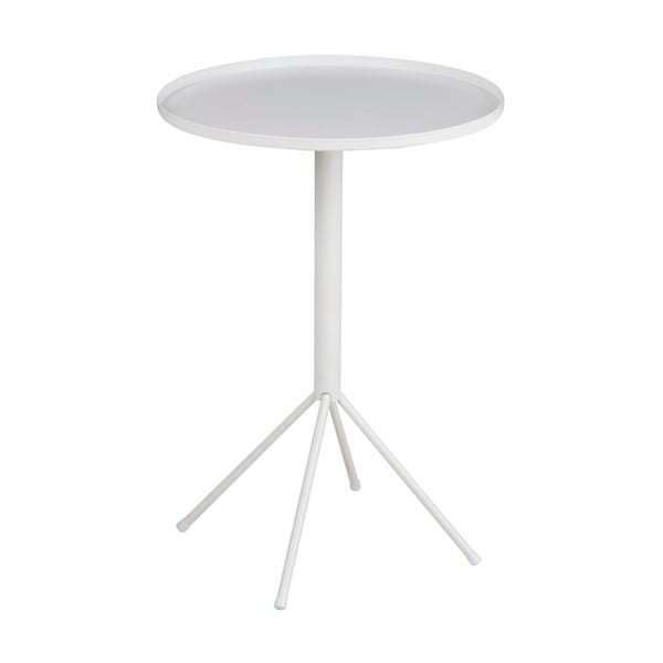 Bílý příruční stolek Actona Wilson