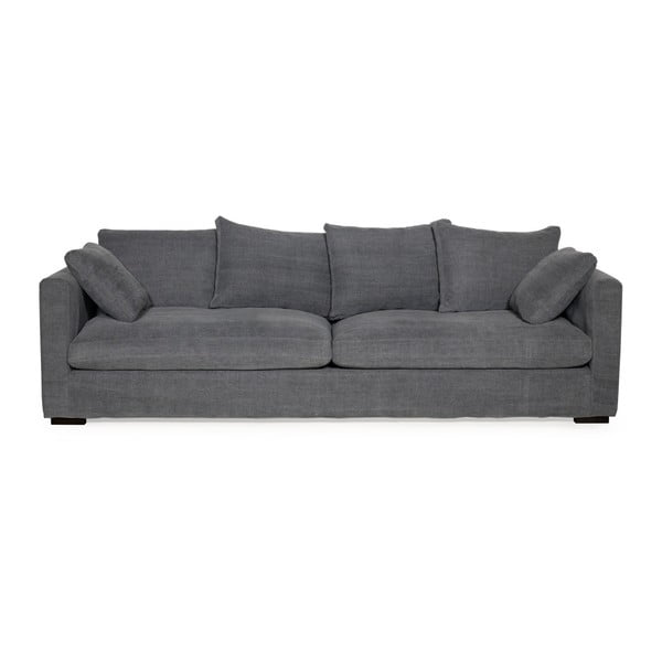 Grafitowa sofa 3-osobowa Softnord Comfy