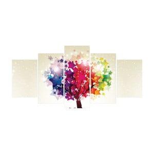 Vícedílný obraz La Maison Des Couleurs Shiny Tree