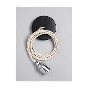 Závěsný kabel Chrome Skirt Ivory Cream