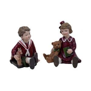 Sada 2 závěsných vánočních dekorací Ego Dekor Kids