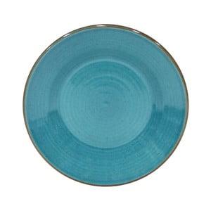 Modrý dezertní talíř z kameniny Casafina Sardegna,⌀24cm