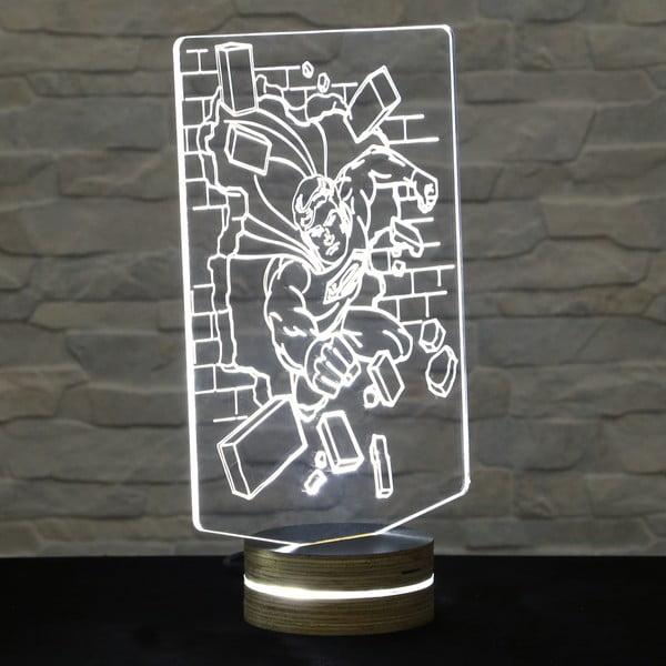 3D stolní lampa Superman