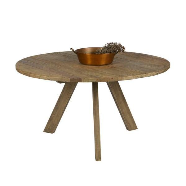 Jídelní stůl z jilmového dřeva BePureHome Tondo, ⌀140cm