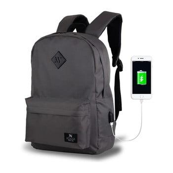 Rucsac cu port USB My Valice SPECTA Smart Bag, gri