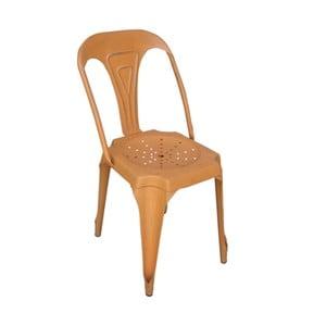 Kovová židle Chaise Orange