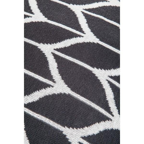 Polštář s výplní Grey and White 8, 43x43 cm