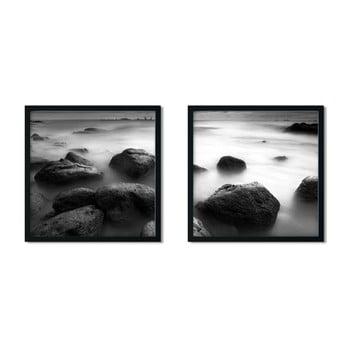 Set 2 tablouri cu ramă Insigne Stonelo,50x50cm