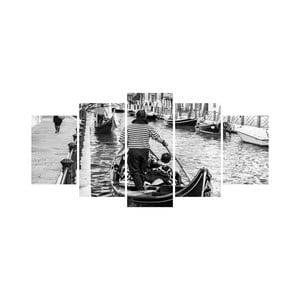 Vícedílný obraz Black&White no. 84, 100x50 cm