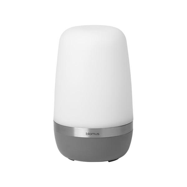 Tmavosivá malá vonkajšia LED lampička Blomus Spirit