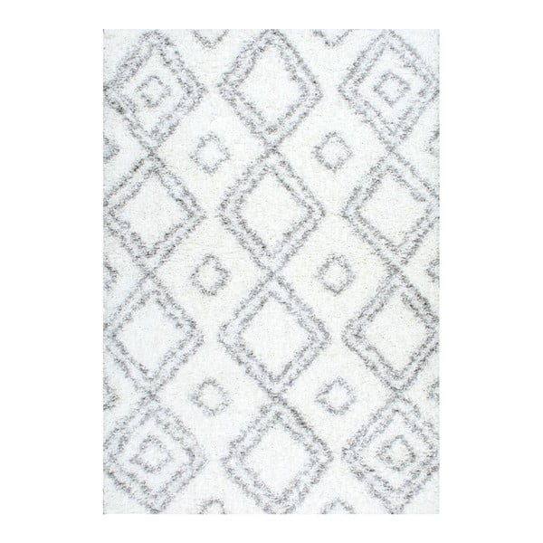 Koberec nuLOOM Corde White, 160x228 cm