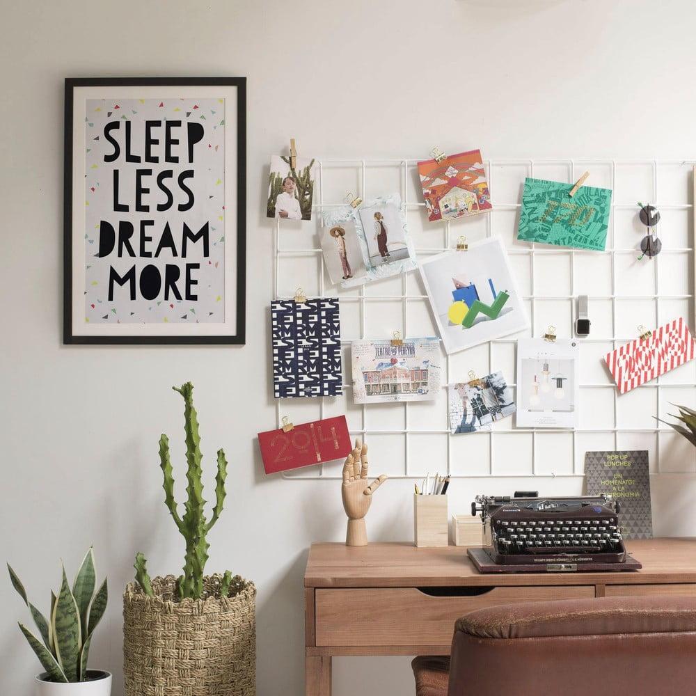 obraz little nice things sleep less 40 x 60 cm bonami. Black Bedroom Furniture Sets. Home Design Ideas