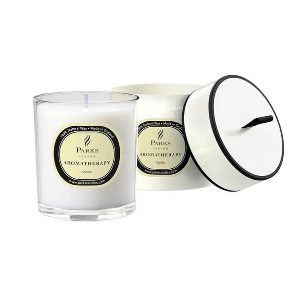 Lumânare parfumată Parks Candles London Aromatherapy, aromă de vanilie, 45 ore