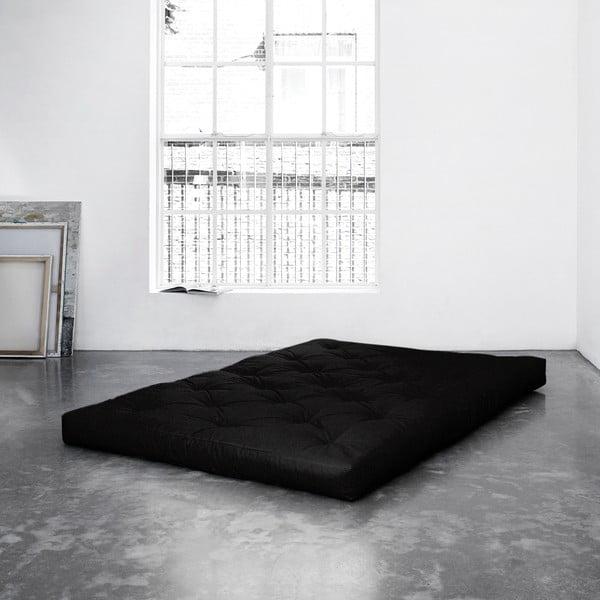Černá matrace Karup Coco Natural z kokosových vláken, 120 x 200 cm