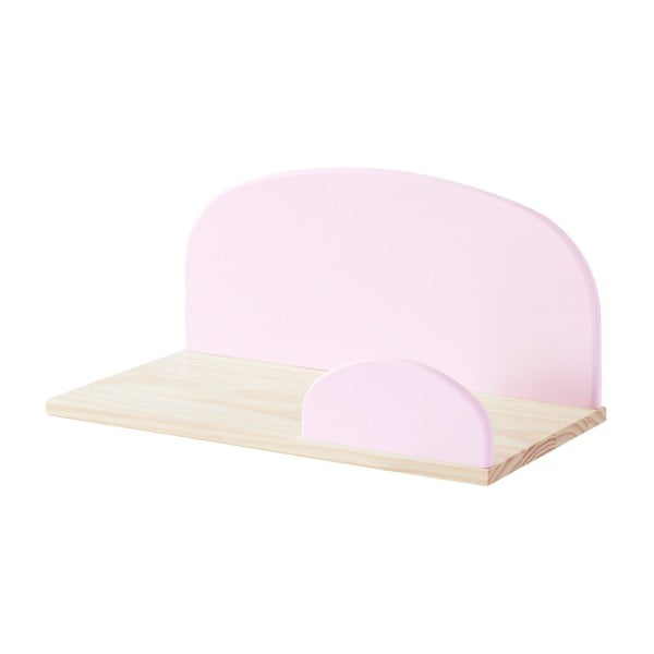 Raft mic de perete Vipack Kiddy, roz