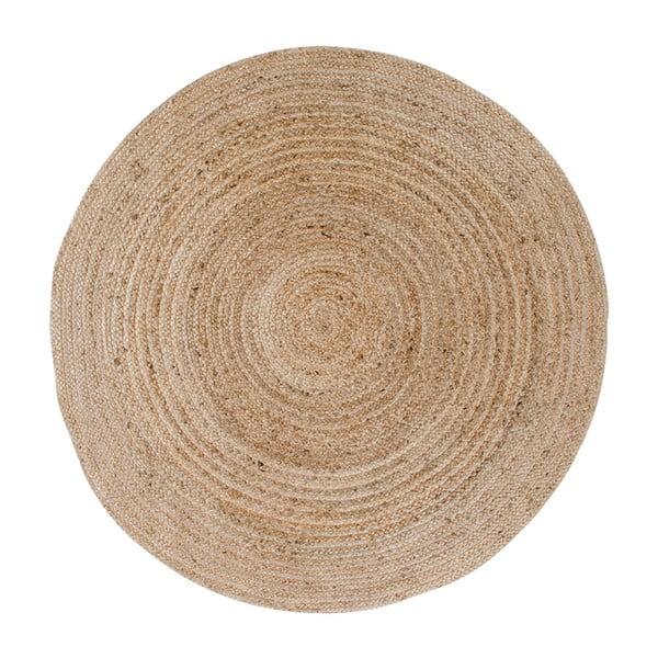 Jasnobrązowy okrągły dywan House Nordic Bombay, ø 150 cm