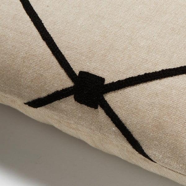 Polštář La Forma  Melrose, 30x50 cm, černý