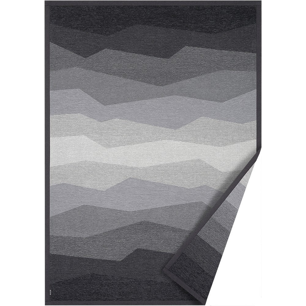 Šedý oboustranný koberec Narma Merise, 70 x 140 cm