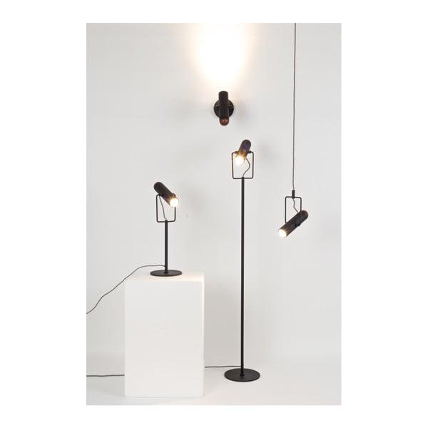 Černá stolní lampa Zuiver Marlon