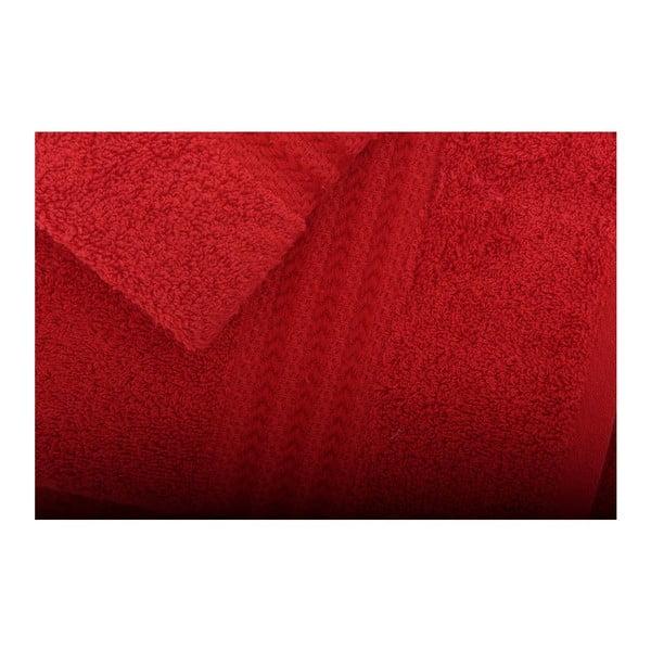 Sada 3 červených ručníků Rainbow