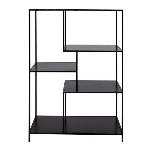 Czarny regał House Nordic Vita Shelf, 80x120 cm