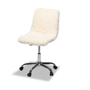 Kancelářská židle s kožešinovým potahem Furnhouse Princess
