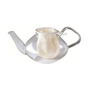 Bílá bavlněná čajová síťka Westmark, ø 9cm