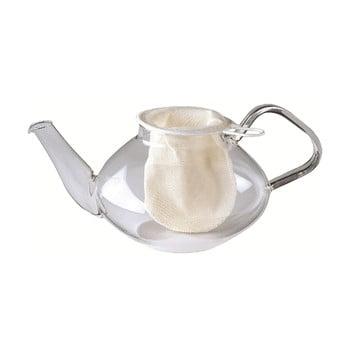 Sită din bumbac pentru ceai Westmark, ø 9cm, alb poza