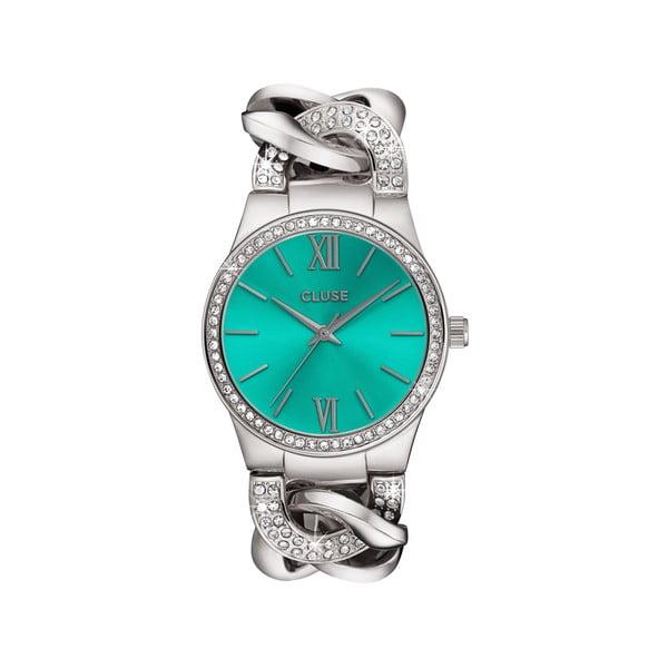 Dámské hodinky Brillante Silver/Mint, 38 mm