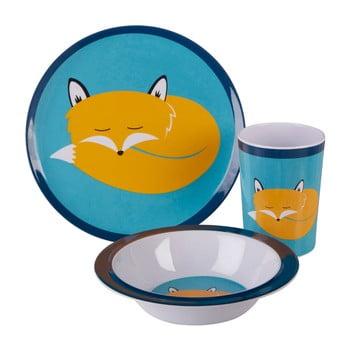 Set veselă pentru copii Premier Housewares Mimo Felix Fox, 3 piese imagine