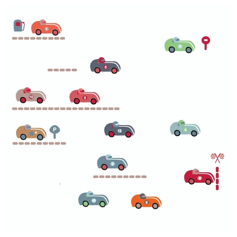 Nástěnné samolepky Art For Kids Race Cars