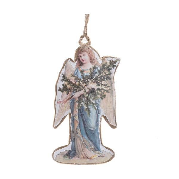 Vánoční závěsná dekorace ve tvaru anděla InArt Zoe