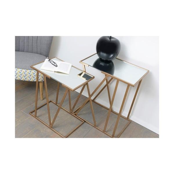 Sada 2 odkládacích stolků Metal Table