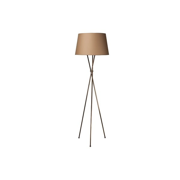 Vintage Brown háromlábú lámpa, 165 x 50 x 50 cm