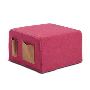 Pat extensibil La Forma Verso, 76 x 200 cm, roz închis
