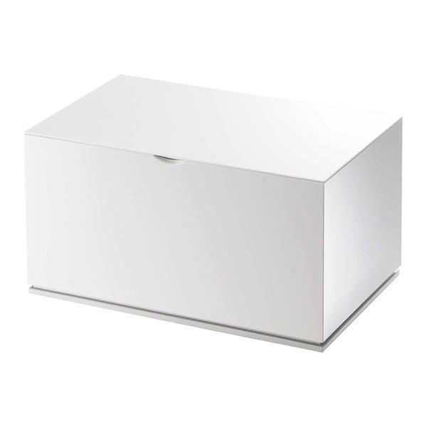Białe pudełko do łazienki YAMAZAKI Veil